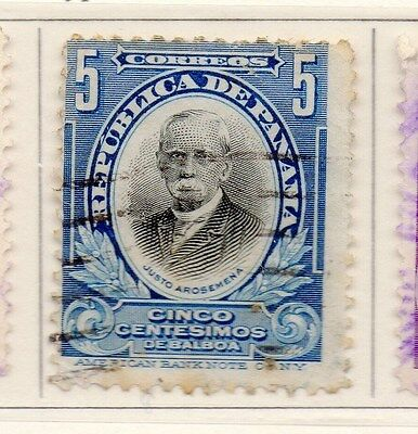 Panama 1909 Early Issue Fine Used 5c. 169986