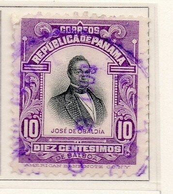 Panama 1909 Early Issue Fine Used 10c. 169987