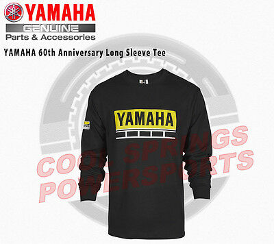 Yamaha 60th Anniversary Long Sleeve Tee