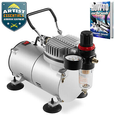 Portable Tankless Airbrush Compressor - 1/5HP