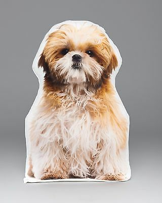 LiLiPi Shih Tzu Accent Shaped Pillow Made in Chicago