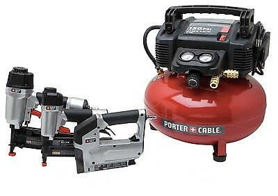Porter Cable Finish Amp Brad Nailer Nail Staple Gun Air