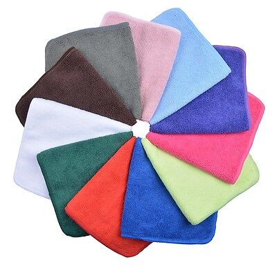 Sunland Microfibre Cleaning Cloths Absorbent Kitchen Dish Towel 12-Pack 30x30cm
