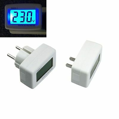 Tester DM55-1 EU US Plug Digital LCD Display AC 80-300V Voltage Tester Voltmeter