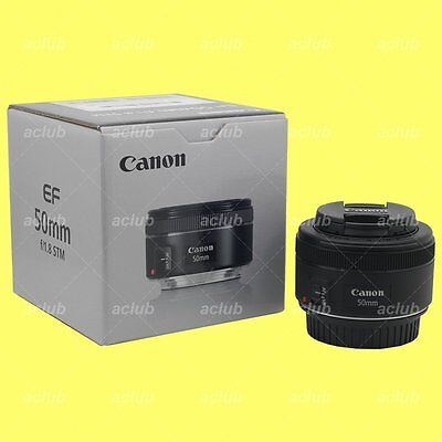 Genuine Canon EF 50mm f/1.8 STM lens