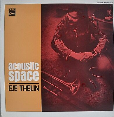 Eje Thelin Acoustic Space Japan LP Toshiba OP-88008