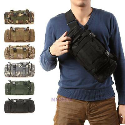 Outdoor Military Tactical Shoulder Waist Pack Molle Camping Hiking Pouch Bag NEW