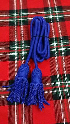 Tc Army Bugle Wool Cord Royal Blue Color/bugle Wool Blue Cord Colors/bugle Cord