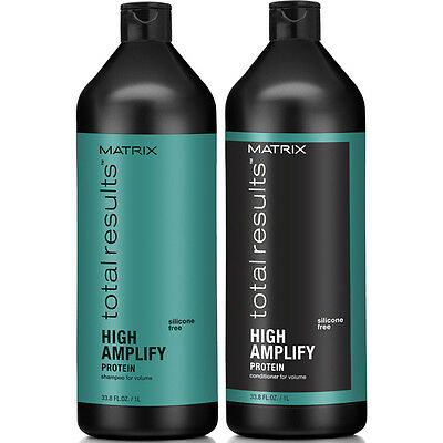 Matrix Total Results Amplify Shampoo & Conditioner Duo 1 Litre 1000ml + 2 Pumps