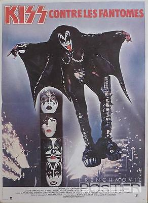 Kiss Meets The Phantom Of The Park - Criss / Frehley - Original French Poster