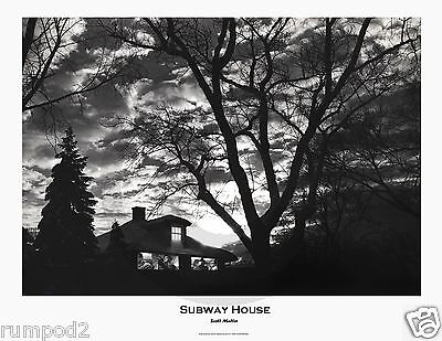 Scott Mutter Poster/Art Print..Subway House Photo Montage/1984/Unpublished Works