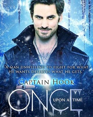"Colin O'Donoghue Captain Hook [Once Upon A Time] Glossy 8""x10"" 10""x8"" Photo"