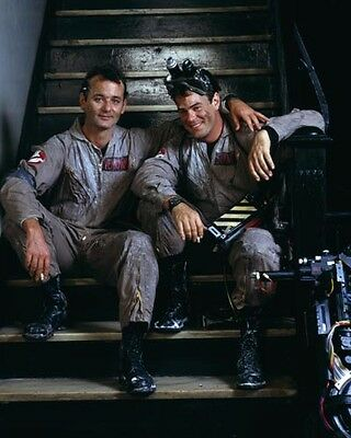 "Bill Murray & Dan Aykroyd [Ghostbusters] High Quality Glossy 8""x10"" 10""x8"" Photo"