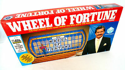 Wheel of Fortune Game (1987) Based on the Hit TV Game Show-John Sands/Croner