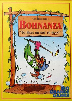 Bohnanza Bean Card Game Princes Pirates Ladies Gangster High Bohn New Rio Grande