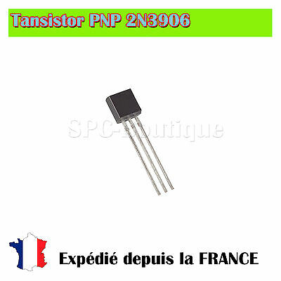 Transistor PNP 2N3906 Boitier TO92