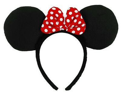 Minnie Mouse Ears Headband Adult Child Costume Accessory NEW Disney