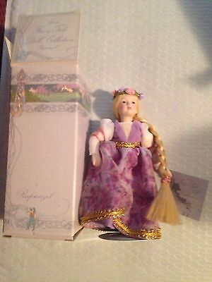 Vintage New Avon Rapunzel Fairy Tale Doll Collection In Original Box