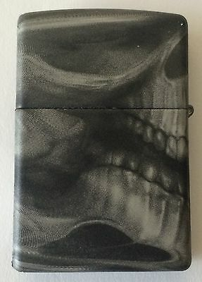 Zippo Windproof Lighter New Process Called Softouch, Skull 28970, New In Box