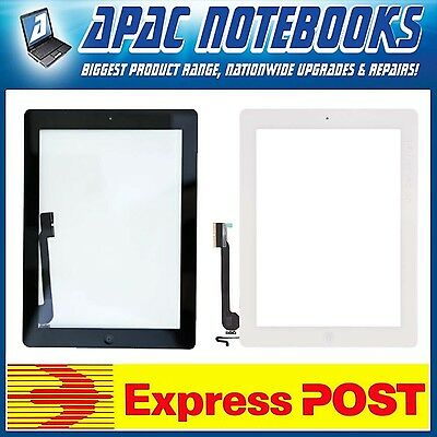Touch Screen Front Glass Digitizer For IPAD A1458 A1459 A1460, White And Black