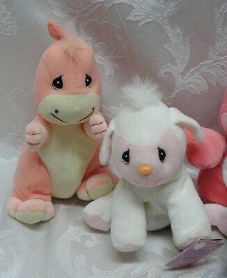 Large Lot Precious Moments Plush Tender Tails Special Limited Edition Dino Snail