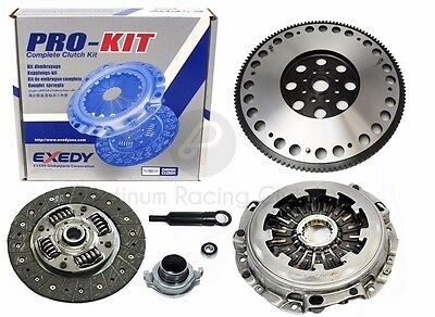 Exedy Clutch Kit+Racing Flywheel Subaru Impreza Wrx 2.0L Turbo Ej205