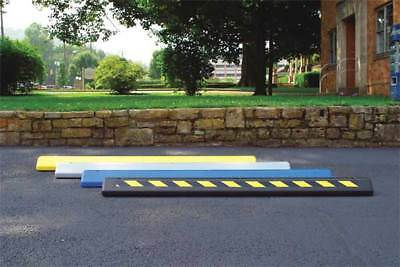 EAGLE 1790 BLACK Parking Curb, 72 x 4 x 8 In, Black/Yellow