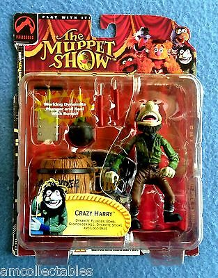 Muppets Show - Palisades - Crazy Harry - 25 Years - Figur - Neu Ovp