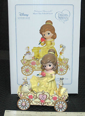 """Precious Moments Disney Parade """"A Beauty To Behold At Five Years Old"""" Belle -NIB"""