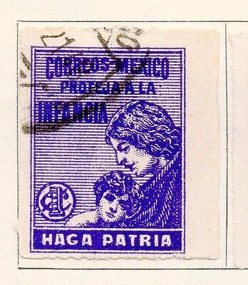 Mexico 1929 Early Issue Fine Used 1c. 170564