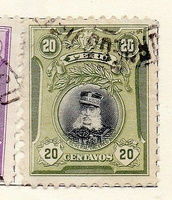 Peru 1918 Early Issue Fine Used 20c. 170598