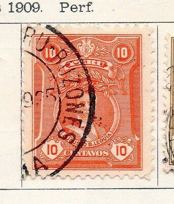Peru 1924 Early Issue Fine Used 10c. 170617
