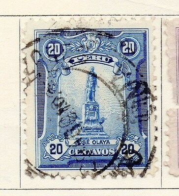 Peru 1924 Early Issue Fine Used 20c. 170619