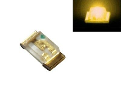 S190 - 50 pcs SMD LED 0603 Yellow LEDs Yellow