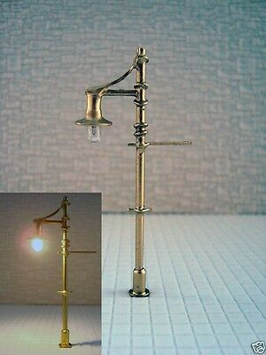 S169 - Set 10 Pcs Lamps Streetlights Nostalgic 1-flammig 5,5cm Park Lights