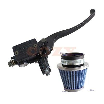 Brake Master Cylinder + 42mm Air Filter for GY6 50cc 125cc 250cc Scooter Moped