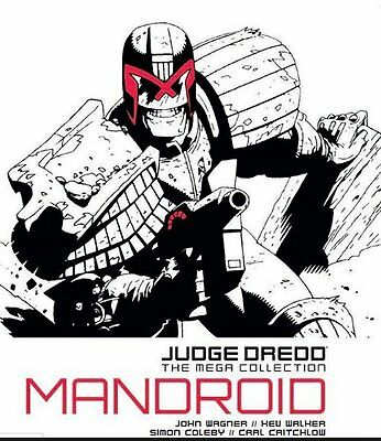 JUDGE DREDD THE MEGA COLLECTION MANDROID ISSUE 6: #JD/7 - Free p&p Used