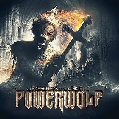 Powerwolf - Preachers of the Night CD 2013 power metal Napalm Records jewel case
