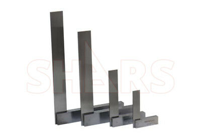 """Shars Precision Steel Hardened 4,6,9,12"""" Machinists Work Shop Squares Sets New"""