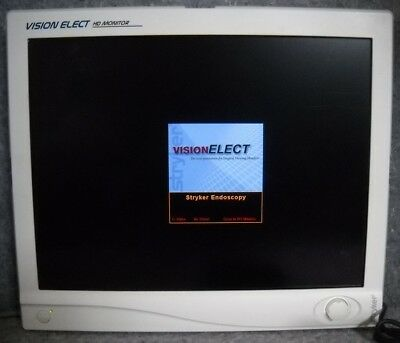 Stryker 240-030-930 21inch LCD Flat Screen Vision Elect W/ Power Supply