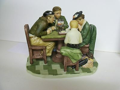 """Norman Rockwell """"Grace Before Meals""""  GORHAM RW-12 Figurine  With Box - Mint"""