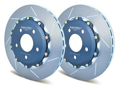 Giro Disc 2-Piece Rear Rotors For MustangBetter Than Oem