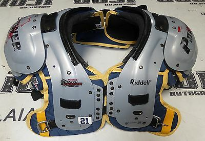 LaDainian Tomlinson Game Used Worn Chargers Football Shoulder Pads 2007 2008 NFL