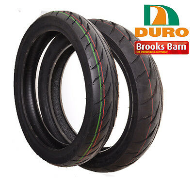 Yamaha YZF-R 125 Sport Duro Front & Rear Tyres (Pair)