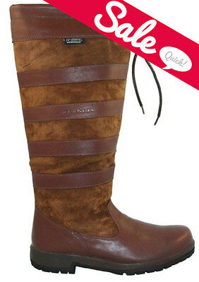 NEW Kanyon Ladies Mens Maple / Beech Leather Tall Horse Riding Waterproof Boots