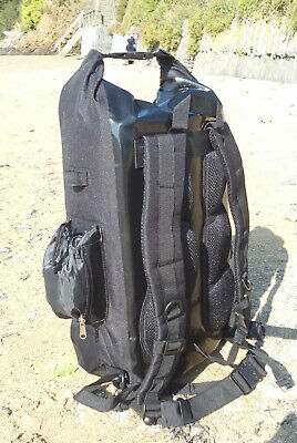 Waterproof 30L dry bag rucksack, padded back & straps. Great for climbers kit...