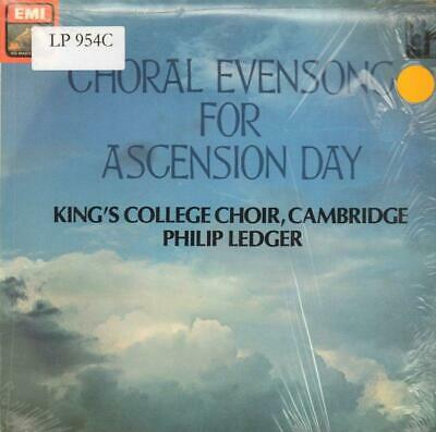 The King's College Choir, Cambridge(Vinyl LP)Choral Evensong For Ascens-Ex/Ex+