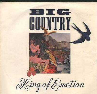 "Big Country(7"" Vinyl P/S)King Of Emotion-BIGC 5-UK-Ex-/Ex"