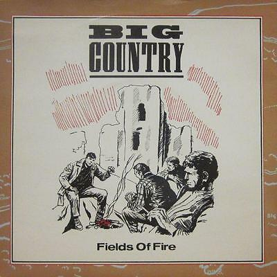 "Big Country(7"" Vinyl P/S)Fields Of Fire-COUNT 2-UK-Ex/VG"