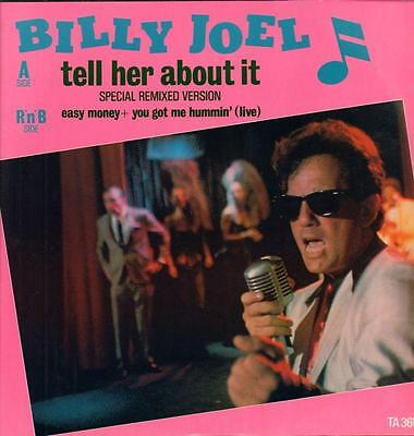"Billy Joel(12"" Vinyl P/S)Tell Her About It-CBS-TA 3655-UK-1983-VG/VG+"